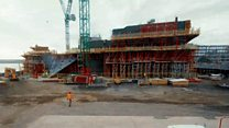 Time lapse of V&A Dundee construction