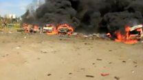 فرار از جنگ و افتادن در دام بمب گذار انتحاری