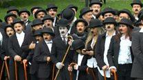 """В Швейцарии собралось рекордное количество """"Чарли Чаплинов"""""""