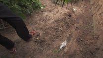 காங்கோ ஜனநாயக குடியரசில் மனிதப்புதைகுழிகள்