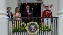 Мелания Трамп - мужу: руку приложи…