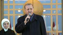 """اردوغان  للمراقبين الأوروبيين """"الزموا حدودكم"""""""