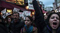 ردود فعل الشارع التركي على الاستفتاء