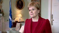 Sturgeon: 'Time for Scotland to be heard'