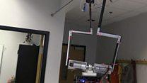 Why this robot learns to swing on cables