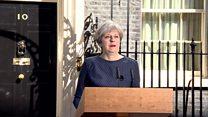 درخواست غافلگیرکننده نخست وزیر بریتانیا