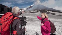 Constant watch on Mount Etna