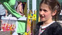 Uma's sweet stall raising money