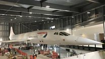 Concorde 216 unwrapped for new museum