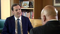 George Osborne on quitting as an MP
