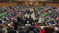 Snap election vote: MPs' debate