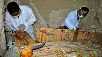 Huit nouvelles momies découvertes en Egypte