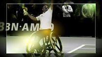 كرسي متحرك متطور خاص برياضة التنس