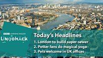 Lingohack - англійська на основі заголовків новин