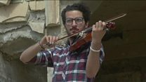 Violinist brings music back to Mosul
