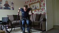 Paralysed man plans London Marathon