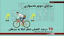 نقش دوچرخهسواری در کاهش احتمال بیماری