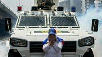 """""""أم المظاهرات"""" تجوب شوارع في فنزويلا"""