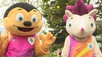Blue Peter athletics mascots revealed