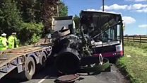 Driver jailed for steam engine bus crash