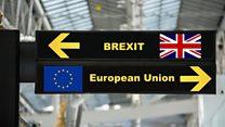 ما معنى عبارة A much bigger brexit؟