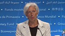 ကမ္ဘာ့စီးပွားရေး တိုးတက်နေပြီလို့ IMF ပြော