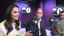 Royals surprise Radio 1 DJ on air
