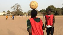 The footballer who drowned in search of a better life
