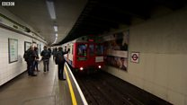 Watch: End of the line for an old Tube train