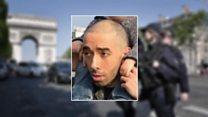 افشای هویت مهاجم حمله شانزه لیزه