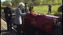 Steam train's first trip for 50 years