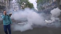 ناآرامی در آستانه انتخابات ریاست جمهوری فرانسه