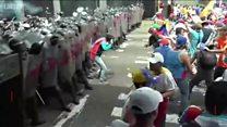Протесты в Венесуэле обернулись смертями