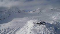 تلاش متخصصان برای نجات یخچالهای آلپ از افزایش دمای زمین