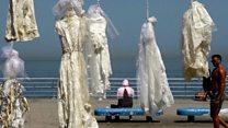 فساتين زفاف مشنوقة في لبنان ...فما السبب؟