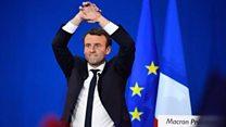 مارین لوپن و امانوئل مکرون به دور دوم انتخابات فرانسه رسیدند