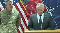 وزیر دفاع آمریکا امسال را سالی سخت برای نیروهای امنیتی افغانستان دانست