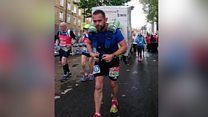 Tumble dryer marathon man breaks record