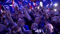 ТВ-новости: политическая неопределенность во Франции после первого тура