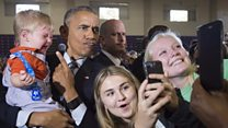 Obama: 'Be careful with your selfies'
