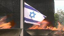Сирена в Израиле в день памяти жертв Холокоста
