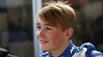 Teen driver 'positive' after F4 crash