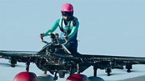 Need a lift? Try this flying machine