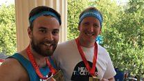 London Marathon: I ran with the man who saved my life