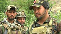 جنگ نیروهای آمریکایی و افغان با داعش در ولسوالی اچین