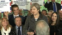 May pledges 'strong, stable leadership'