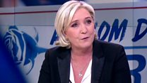 Le Pen: I am the presidential candidate