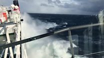 Freak wave hits Highlands ferry