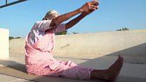 یوگا کی 98 سالہ انڈین استانی