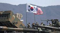 ТВ-новости: демонстрация силы на Корейском полуострове